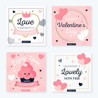 Ensemble instagram post valentin