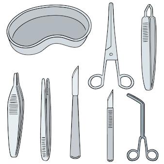 Ensemble d'instruments chirurgicaux