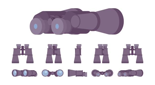 Ensemble d'instruments optiques pour jumelles