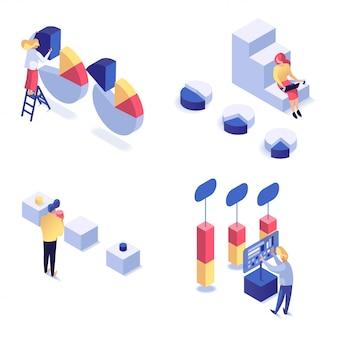 Ensemble isométrique de traitement de l'information