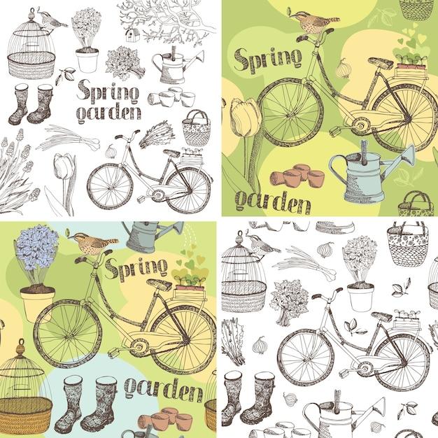Ensemble de jardin