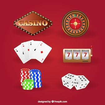 Ensemble de jeux de casino