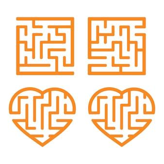 Un ensemble de labyrinthes