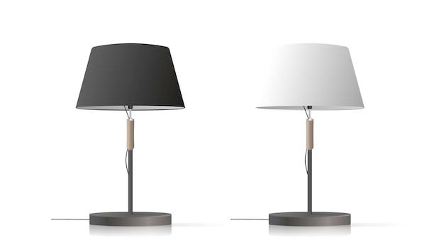 Ensemble de lampes de table décoratives.