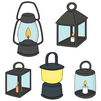 Ensemble de lanterne