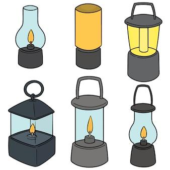 Ensemble de lanternes