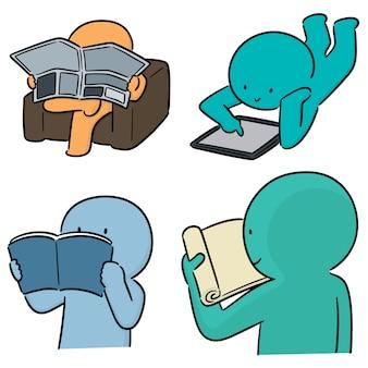 Ensemble de lecteur