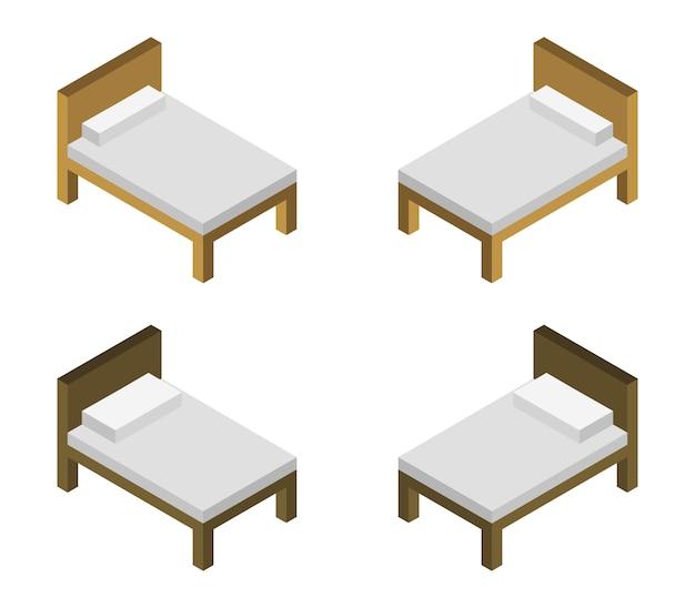 Ensemble de lit isométrique
