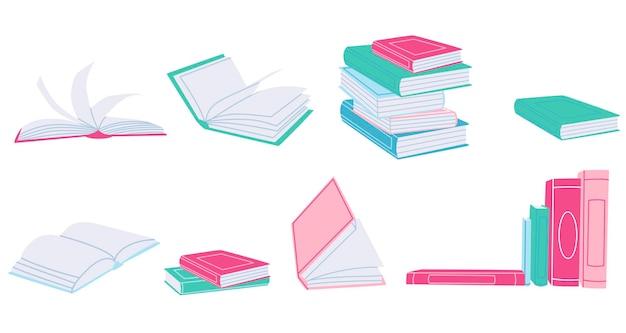 Ensemble de livres différents
