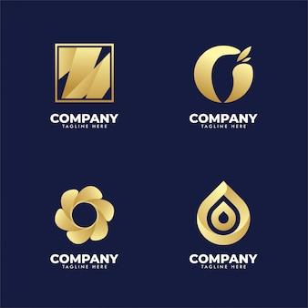 Ensemble de logo de l'entreprise