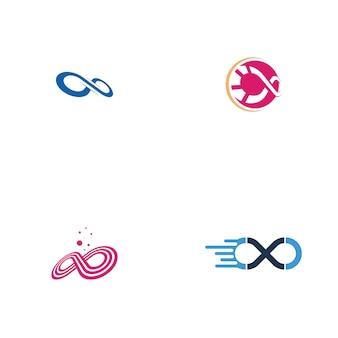 Ensemble de logo infinity