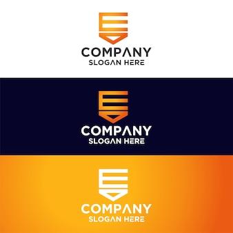 Ensemble de logo monogramme premium
