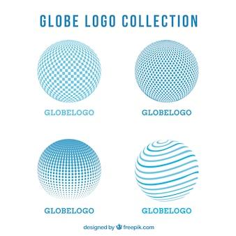 Ensemble de logos abstraits ronds