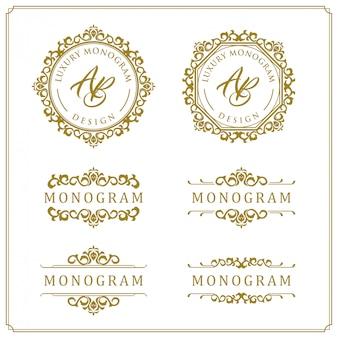 Ensemble de luxe pour mariage et décoration