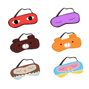 Ensemble de masque de sommeil
