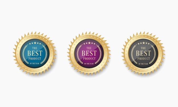 Ensemble de médaille d'or isométrique best seller
