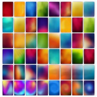 Ensemble méga de conception de couverture géométrique minimale