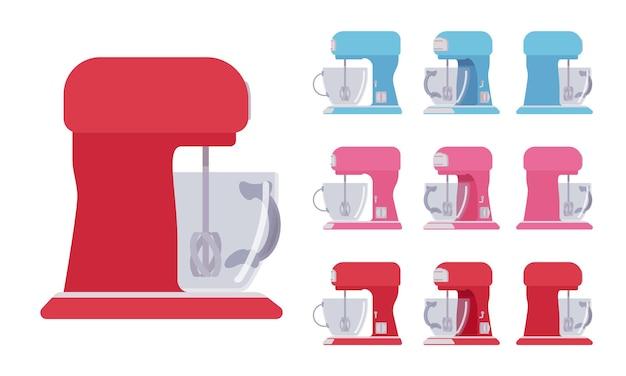 Ensemble mélangeur, équipement de cuisine et de café