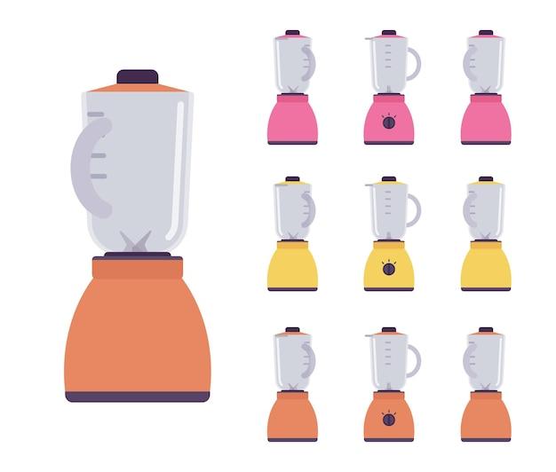 Ensemble de mélangeur, robot de cuisine mélangeur électrique