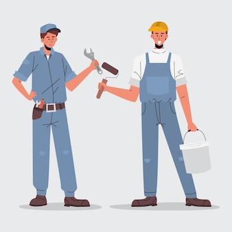 Ensemble des métiers de la maison et de la rénovation