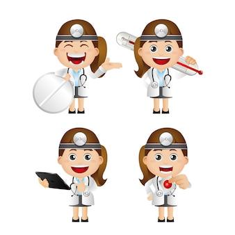 Ensemble mignon - ensemble de docteur