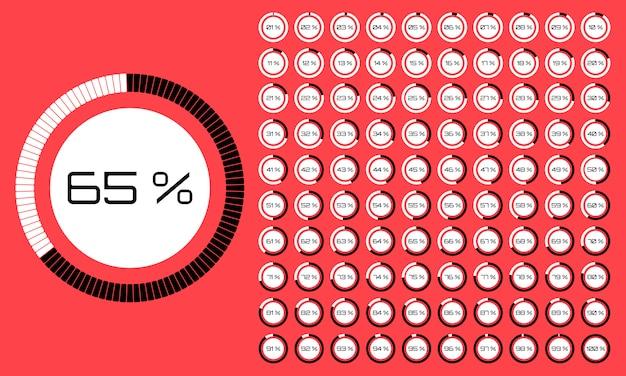 Ensemble de minuteries. icône de signe. définir l'image du cadran d'horloge minimaliste blanc avec le temps des tiques noires, différentes formes de rond et de carré, isolé sur fond. l'horloge avec affichage des minutes.