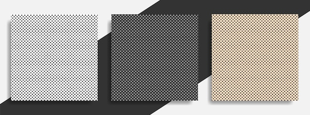 Ensemble de modèle abstrait triangle sans soudure
