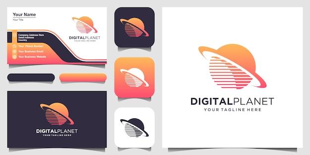 Ensemble de modèle de conception de logo monogramme créatif
