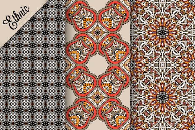 Ensemble de modèle sans couture avec éléments géométriques