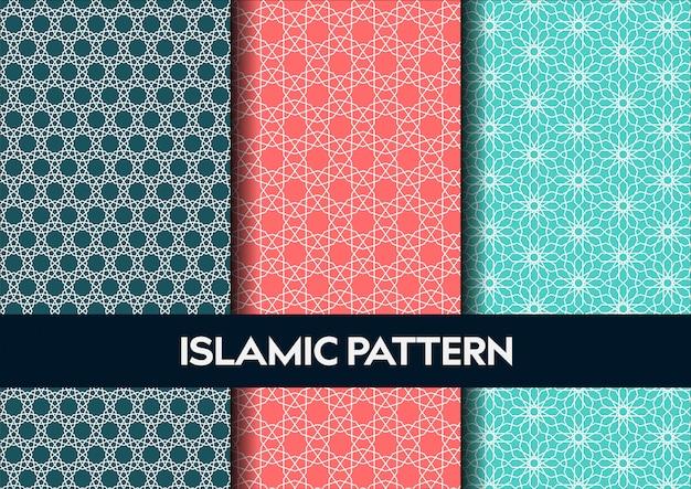 Ensemble de modèle sans couture de l'islam