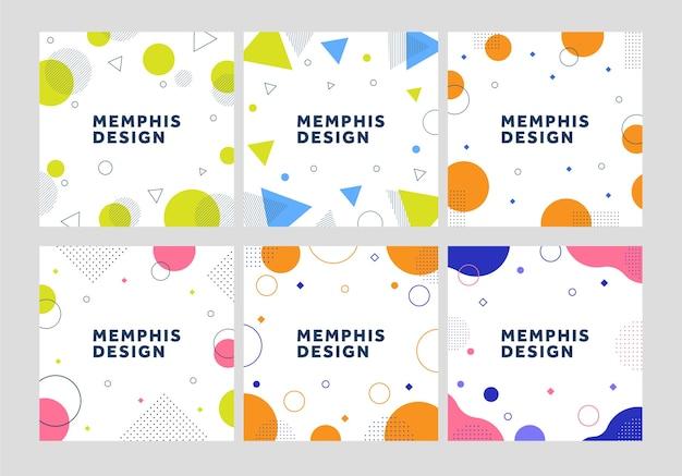 Ensemble de modèles de conception de memphis