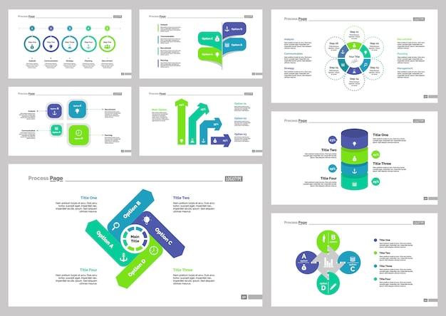 Ensemble de modèles de diapositives bancaires huit