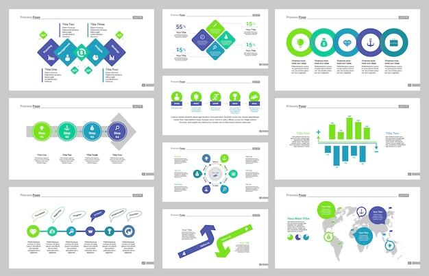 Ensemble de modèles de dix outils de gestion