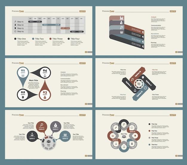 Ensemble de modèles de planification de six plans
