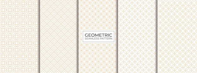 Ensemble de modèles sans soudure géométriques
