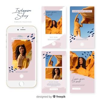 Ensemble de modèles de vente instagram