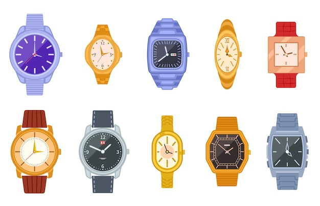 Ensemble de montres classiques