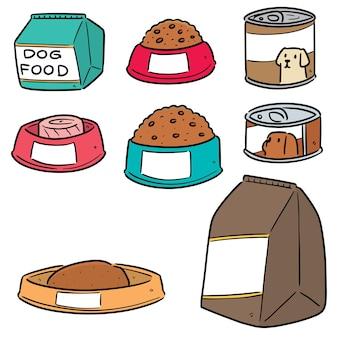 Ensemble de nourriture pour chien