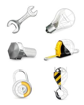 Ensemble d'outils,