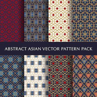 Ensemble de pack modèle beau vecteur abstrait