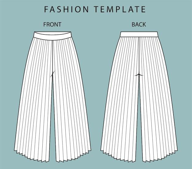 Ensemble pantalon vue avant et arrière