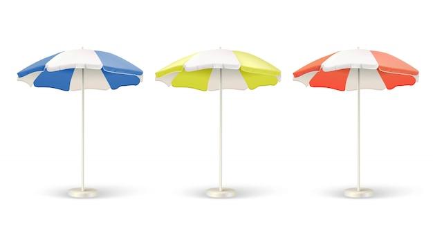 Ensemble de parasols pare-soleil