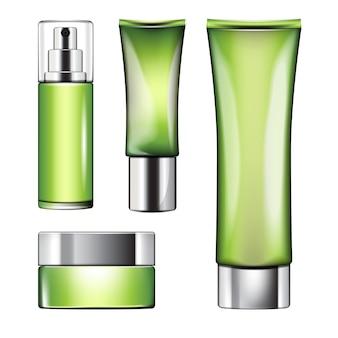Un ensemble de parfums pour les soins de la peau