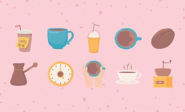 Ensemble pause-café