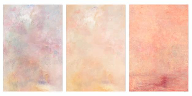 Ensemble de peintures à l'huile