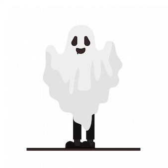 Ensemble de personnages de dessins animés pour halloween