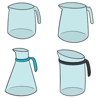 Ensemble de pichet d'eau