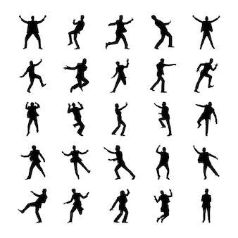 Ensemble de pictogrammes humains