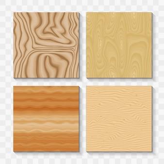 Ensemble de pièces en bois