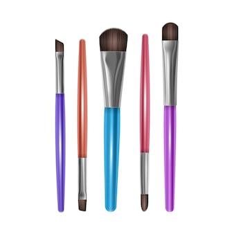 Ensemble de pinceaux de maquillage professionnels